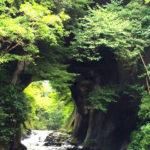 濃溝の滝。