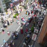 今日はすずらん通りで立川フラメンコ2017が開催されてましたー。
