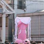 川崎大師駅 かなまら祭り