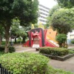 初オニ公園!