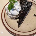 このチョコチーズケーキはリピートしたいくらいおいしかった!!