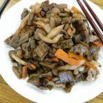 檜原村 芋がらの煮物